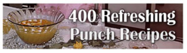 Product picture 400 Refreshing Punch Recipes Ebook Resell